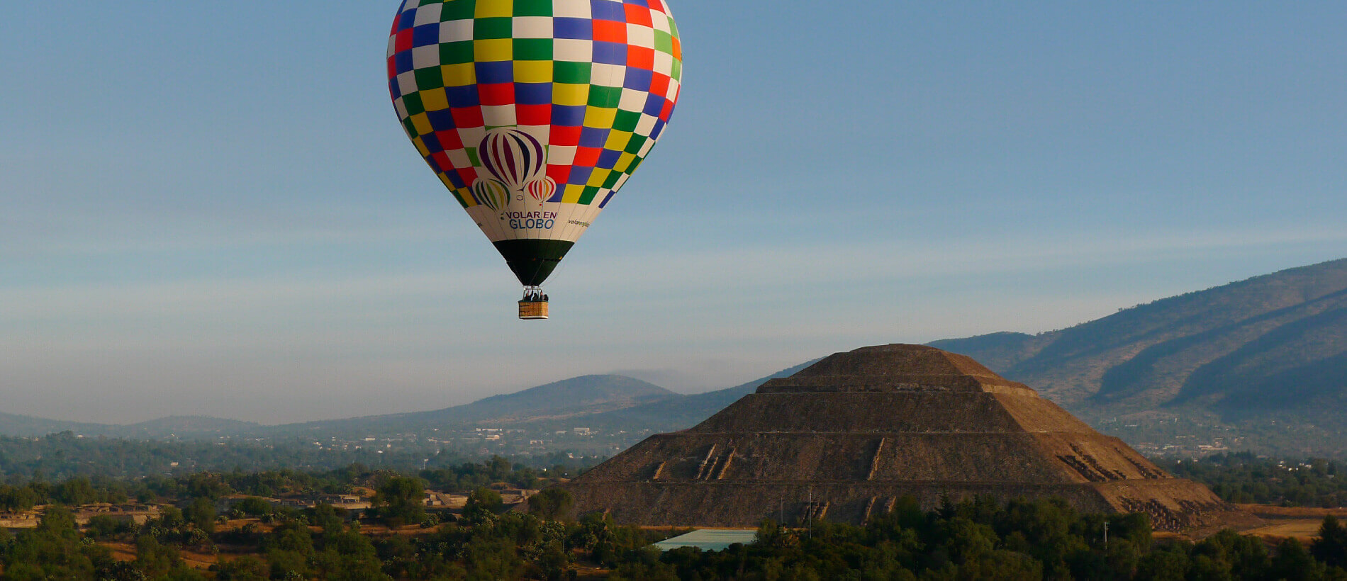 Hot Air Balloon Ride At Teotihuacan