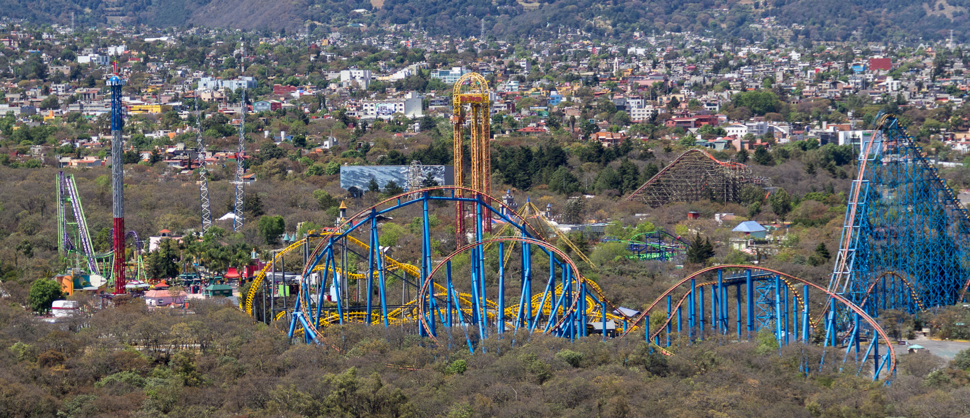 Six Flags Tour In Mexico City With Ground Transportation