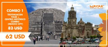 Combo 1 Teotihuacan + Historic Centre Walking Tour