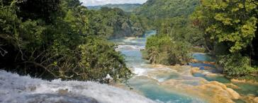 Bilingual Palenque Tour (Agua Azul and Misol-Ha) with Tourist Guide